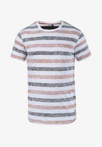 Solid - RUNDHALSSHIRT TET - Print T-shirt - orange - 2
