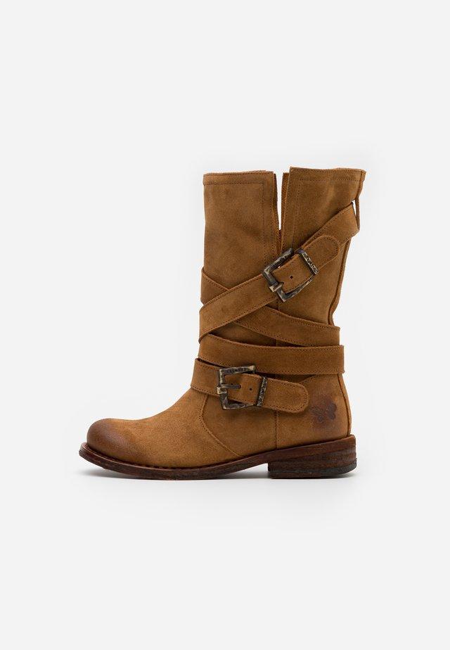 GREDO - Cowboy/Biker boots - nirvan nicotinne