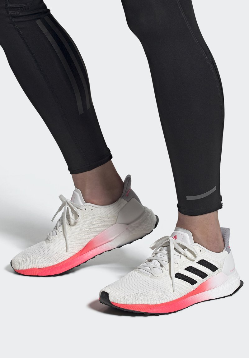 adidas Performance - SOLAR BOOST 19 - Neutral running shoes - crystal white/core black/copper metallic