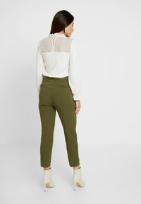 J.CREW PETITE - CAMERON SEASONLESS - Trousers - frosty olive - 3