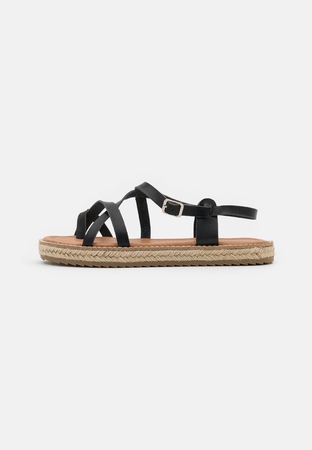 ALTHEA - Flip Flops - black