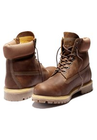 Timberland - Lace-up boots - rust full grain - 3