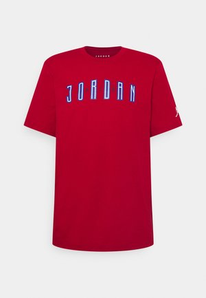 CREW - T-shirt imprimé - red