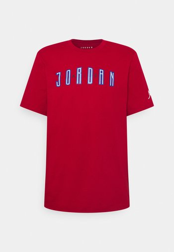 CREW - T-shirt con stampa - red