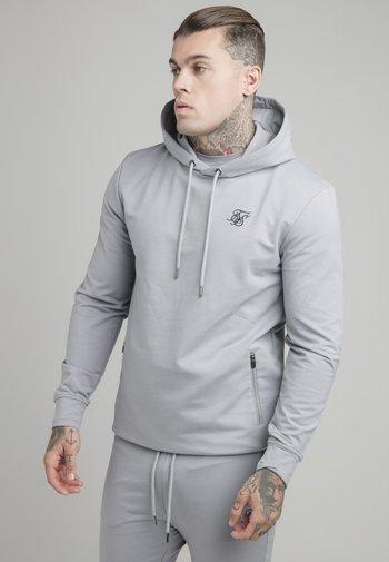 OVERHEAD ACTIVE TAPE HOODIE - Sweatshirt - grey