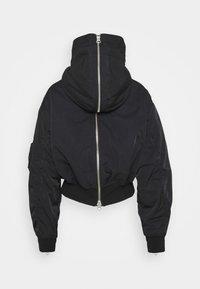 Weekday - REEVES JACKET - Light jacket - black solid - 10
