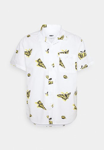 BUTTERFLY - Shirt - white/multi coloured