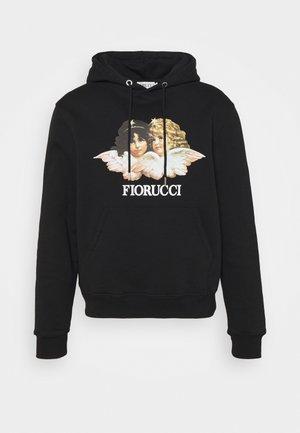 MENS VINTAGE ANGELS HOODIE - Sweatshirt - black