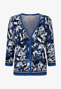 Alba Moda - Cardigan - blau/off-white - 1