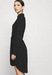 Vero Moda - VMBOA SHORT DRESS - Shirt dress - black - 4