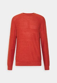 Selected Homme - SLHBUDDY CREW NECK - Jumper - ketchup - 4