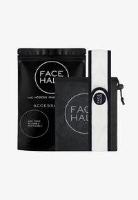 Face Halo - FACE HALO ACCESSORIES - Huidverzorgingsset - black/white - 0