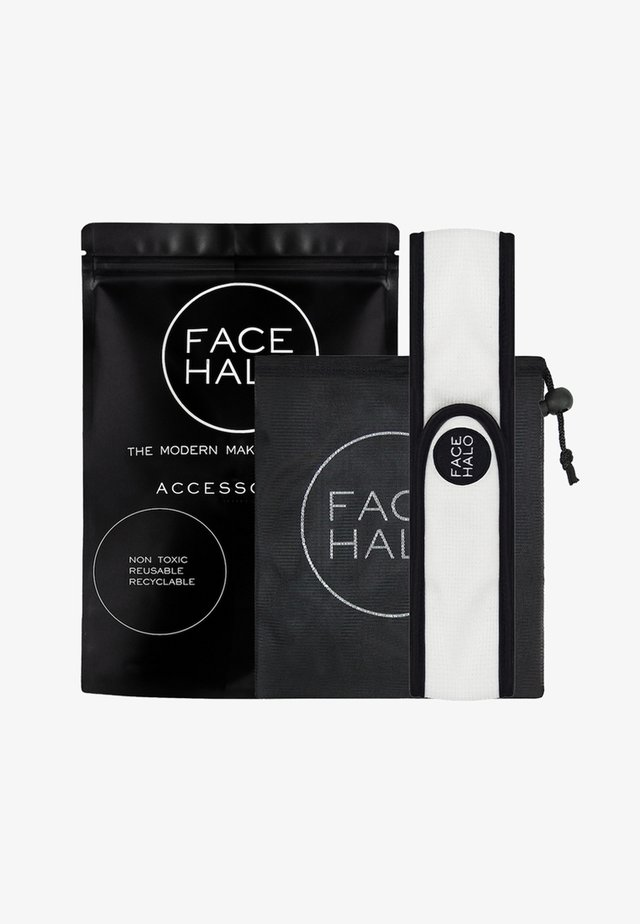 FACE HALO ACCESSORIES - Skincare set - black/white