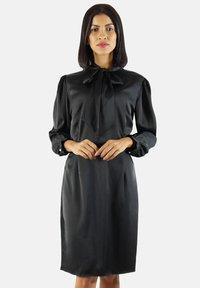 Aline Celi - Shift dress - black - 0