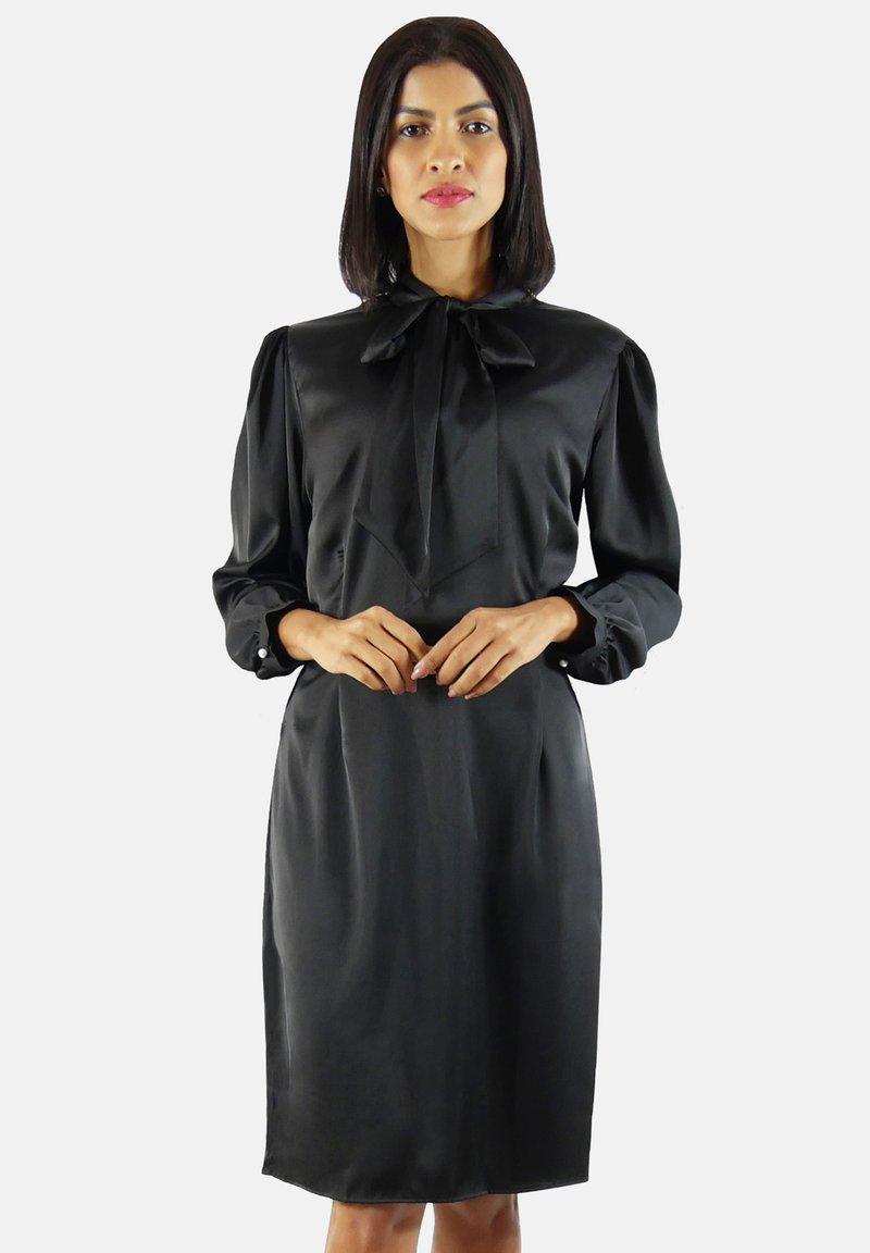 Aline Celi - Shift dress - black