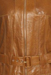 Marc Cain - Leather jacket - creme caramel - 2