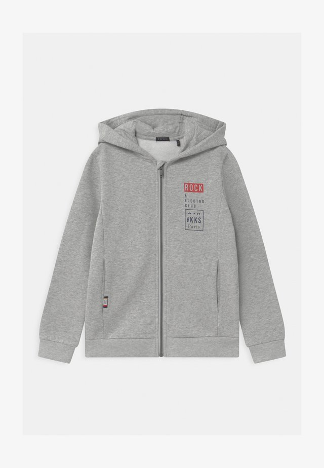 HOLLOGRAM GOOGLES AND HEADPHONES ZIP UP HOODIE - Mikina na zip - gris