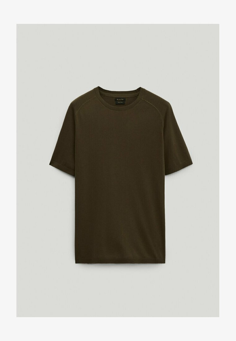 Massimo Dutti - LIMITED EDITION  - T-Shirt basic - khaki