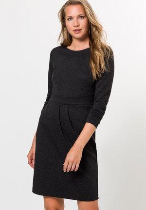 Jersey dress - anthracite