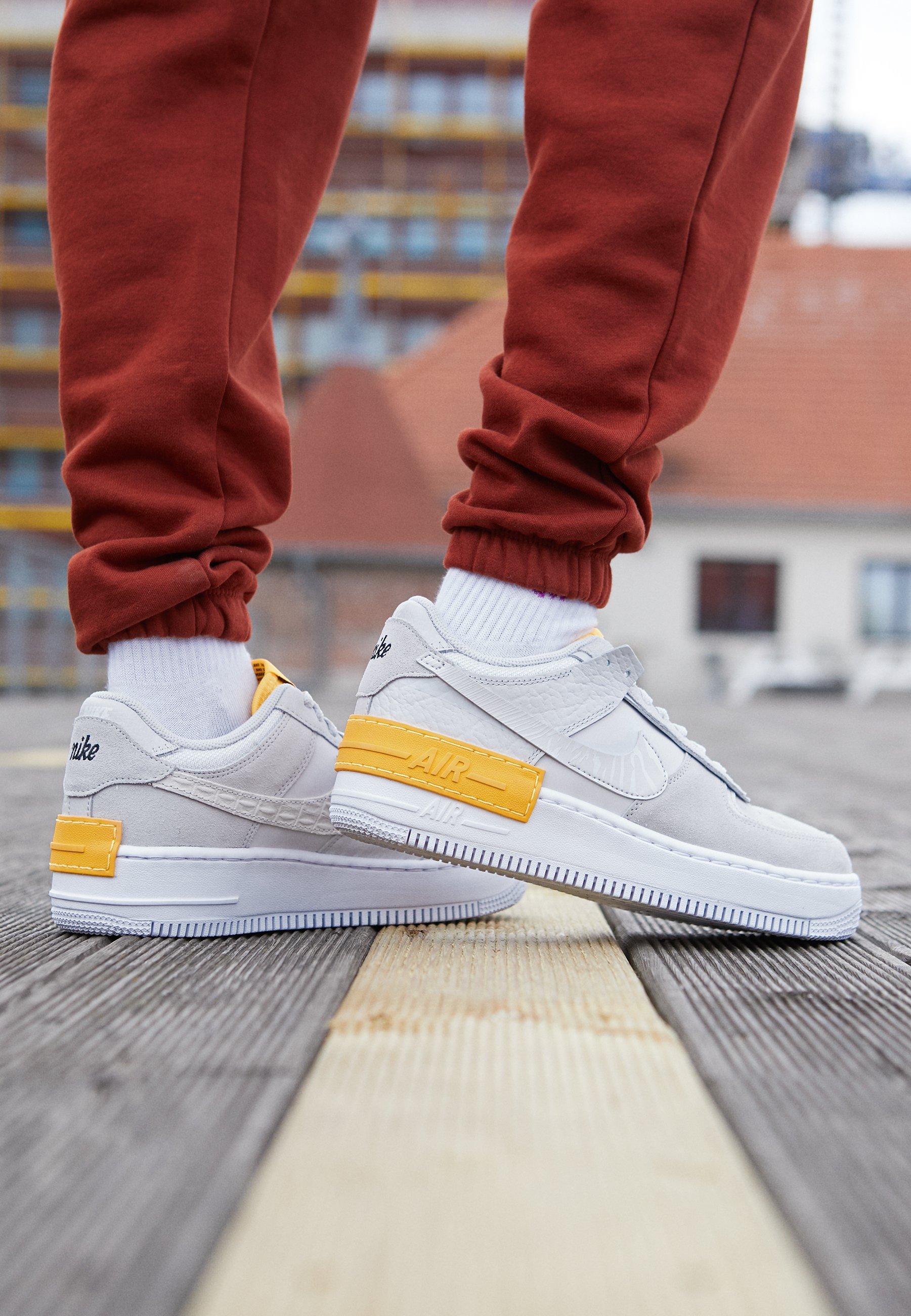 Nike Sportswear AIR FORCE 1 SHADOW - Baskets basses - vast grey ...