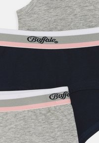 Buffalo - SET 2 PACK - Underwear set - grey melange/navy - 3