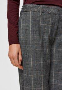 Selected Femme - Pantaloni - medium grey melange - 3