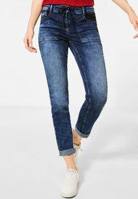 Cecil - MIT COOLEN TASCHEN - Slim fit jeans - blau - 0