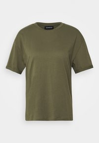 Even&Odd - Basic T-shirt - olive night - 4