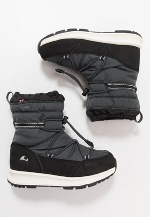 OKSVAL GTX - Winter boots - black/charcoal