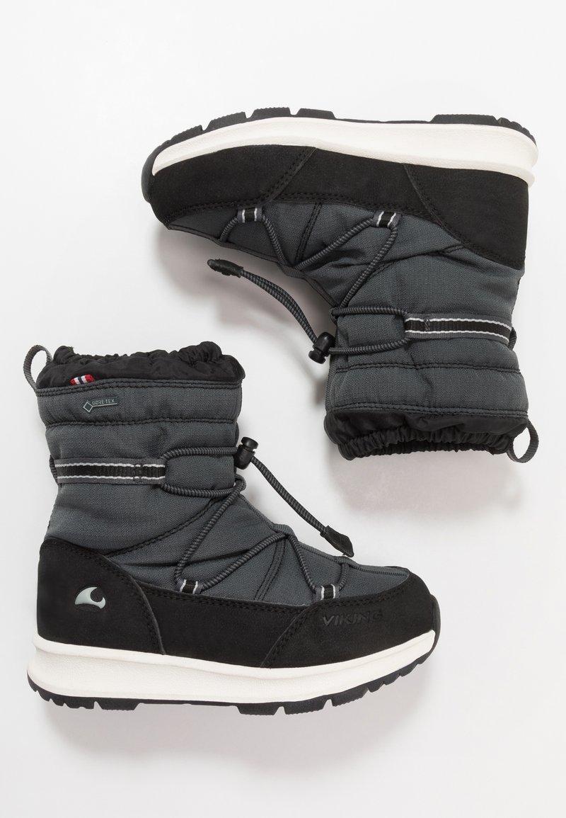 Viking - OKSVAL GTX - Zimní obuv - black/charcoal