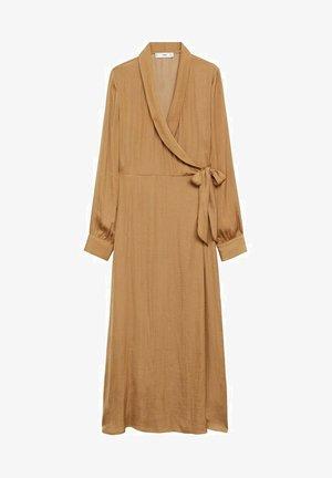 PASQ-A - Day dress - middenbruin