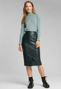 Esprit - Pencil skirt - dark green - 1