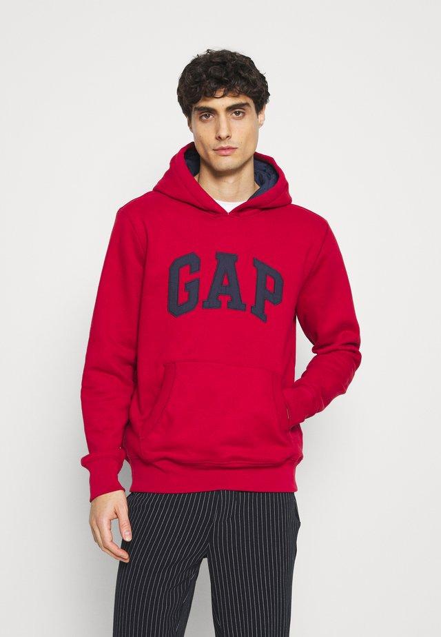 Sweatshirt - cinnabar red