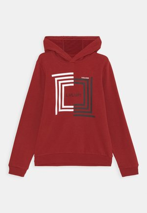 Kapuzenpullover - red
