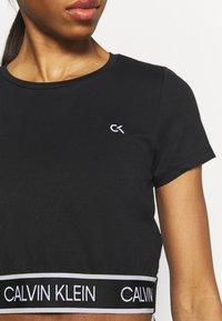 Calvin Klein Performance - Print T-shirt - black - 4
