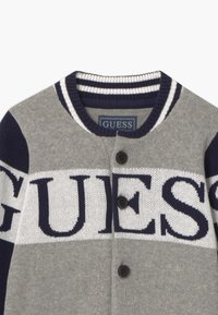 Guess - TODDLER - Chaqueta de punto - blue/grey - 3