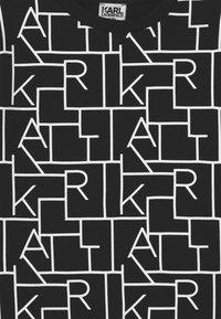 KARL LAGERFELD - Collegepaita - black/white - 2