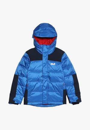 MOUNT COOK JACKET KIDS - Zimní bunda - coastal blue
