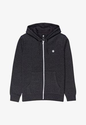 CORNELL CLASSIC - Zip-up hoodie - charcoal heathe