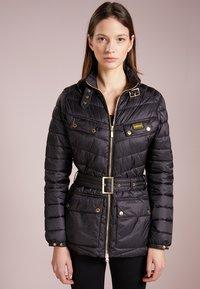 Barbour International - GLEANN QUILT - Light jacket - black - 0