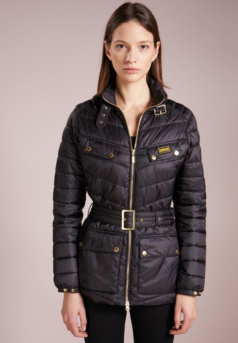 Barbour International - GLEANN QUILT - Light jacket - black