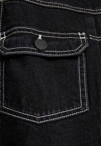 Jack & Jones PREMIUM - JJIWILLIAM JJJACKET - Džínová bunda - black denim - 4
