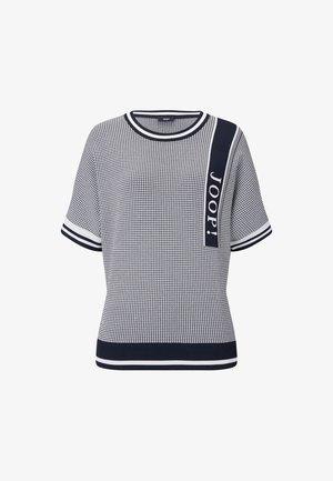 KARLEY - Print T-shirt - navy-weiß