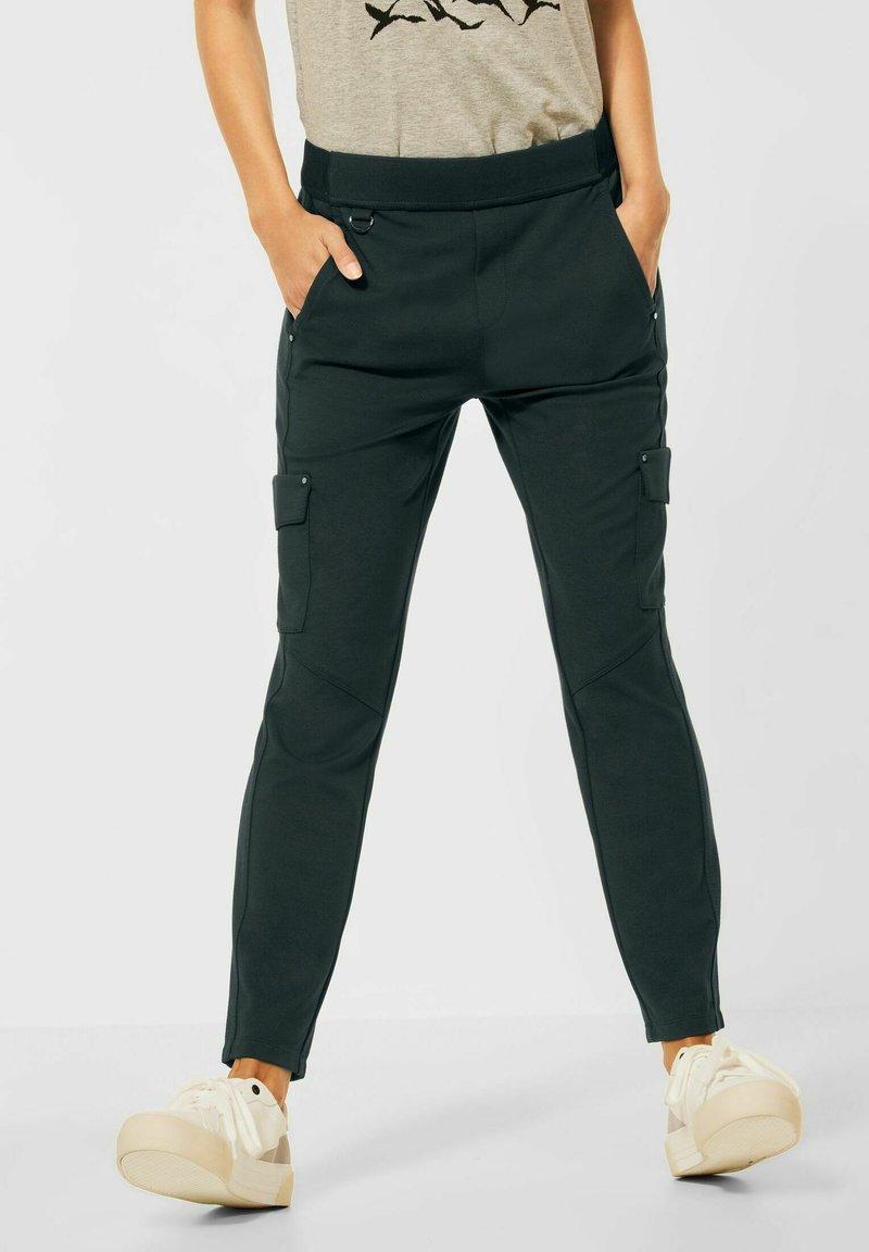 Street One - Cargo trousers - grün