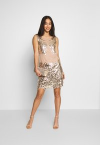 Nly by Nelly - DANCE DRESS - Vestito elegante - gold - 1