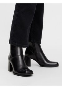 Bianco - BIADAY - Classic ankle boots - black - 0
