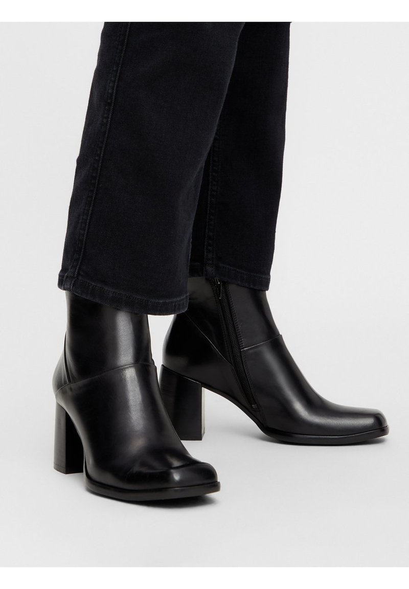 Bianco - BIADAY - Classic ankle boots - black