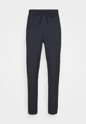 ONSLINUS LONG CHECK  - Pantaloni - dark navy