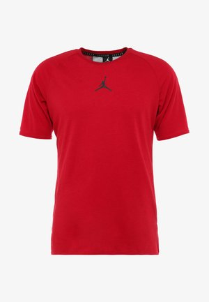 ALPHA DRY - T-shirt med print - gym red/black