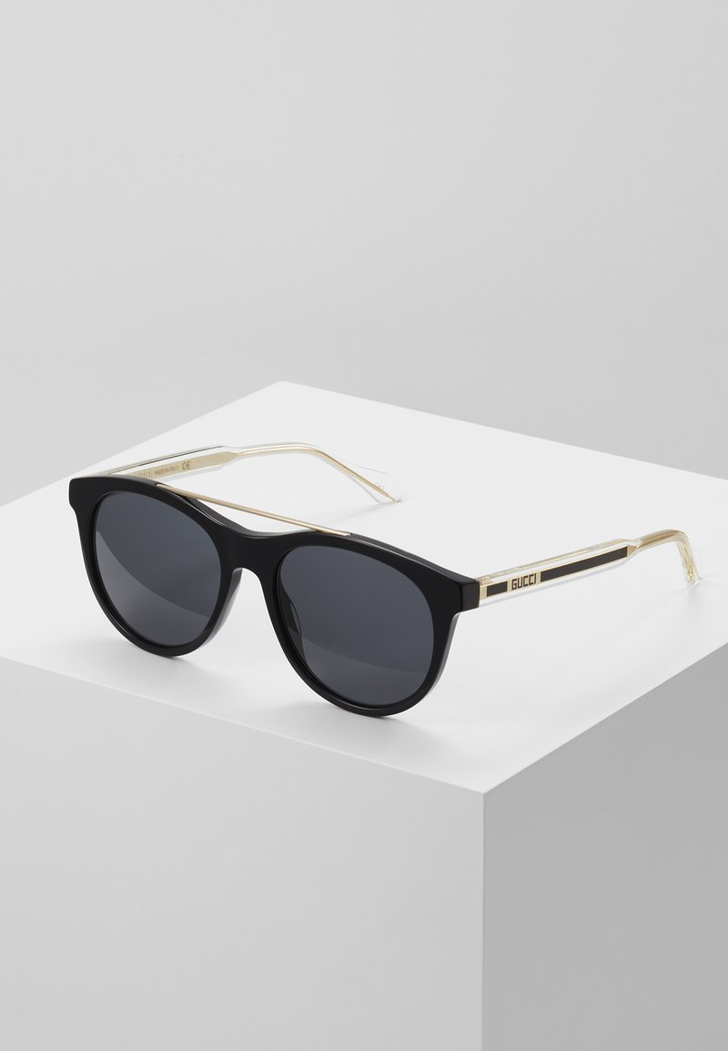 Gucci - Sunglasses - black/crystal/grey